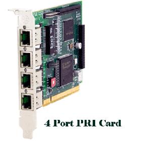 Digium – 4 Port PRI