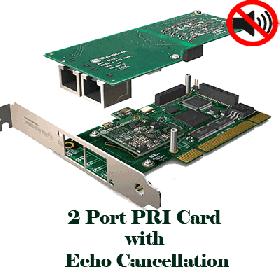 Sangoma – 2 port PRI Echo