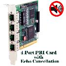 Digium – 4 port PRI Echo